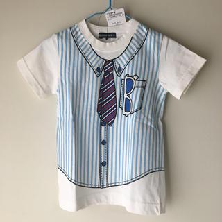 リトルベアークラブ(LITTLE BEAR CLUB)の【新品未使用】100㎝ little bear club Tシャツ(Tシャツ/カットソー)