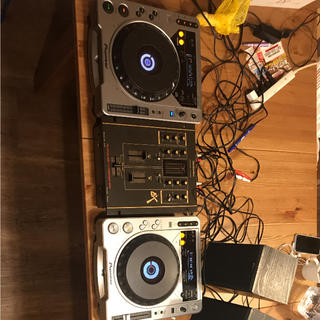 パイオニア(Pioneer)のCDJ800MK2セット(CDJ)
