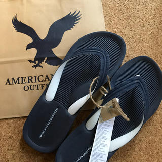 アメリカンイーグル(American Eagle)の26㎝ ネイビー★アメリカンイーグル ビーサン(ビーチサンダル)