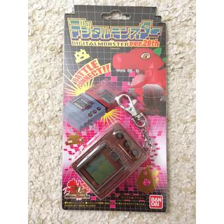 バンダイ(BANDAI)のデジタルモンスターVer.20th カラー:ブラウン(携帯用ゲーム本体)