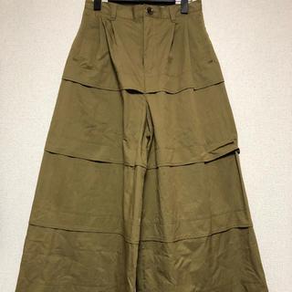 """アンリアレイジ(ANREALAGE)のANREALAGE 17a/w """"ROLL"""" wide pants(カジュアルパンツ)"""