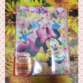 ディズニー(Disney)の*新品&未使用* ポストカードアルバム ミッキー&ミニー(アルバム)