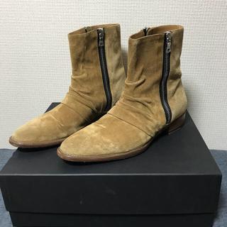 サンローラン(Saint Laurent)の専用 定価10万 AMIRI スエードブーツ 42(ブーツ)