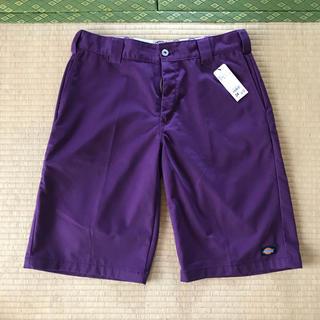 ディッキーズ(Dickies)のひまわりさくら様価格★ ディッキーズ ハーフパンツ32●パープル紫(ショートパンツ)