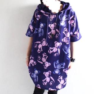 ファンキーフルーツ(FUNKY FRUIT)のスケルトンベアTシャツにもワンピースにも(Tシャツ(半袖/袖なし))