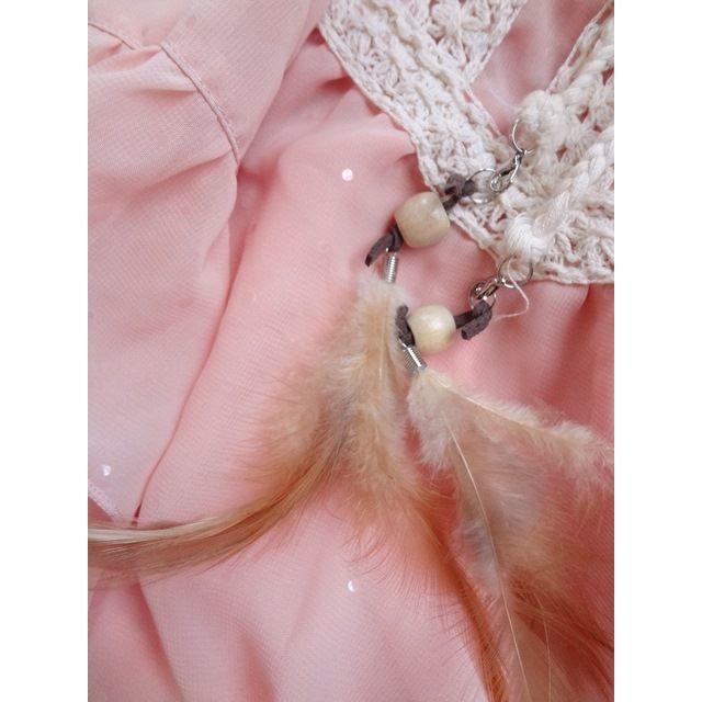 しまむら(シマムラ)のAIRLY MOMO/ポンチョブラウス(140) キッズ/ベビー/マタニティのキッズ服 女の子用(90cm~)(ブラウス)の商品写真