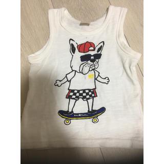 プティマイン(petit main)のタンクトップ(Tシャツ/カットソー)