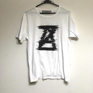 アンリアレイジ(ANREALAGE)の格安 アンリアレイジ デザインロゴTシャツ ANREALAGE(Tシャツ/カットソー(半袖/袖なし))
