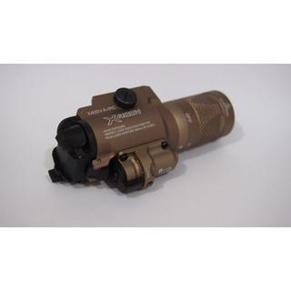 シュアファイア(SUREFIRE)の新品・未使用・ストロボ・レーザー搭載 X400Vシュアファイアウェポン(個人装備)
