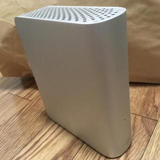 アイオーデータ(IODATA)のすぐ使える!【お買い得】WD製 外付けHDD 1TB Mac(PC周辺機器)
