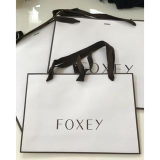 フォクシー(FOXEY)のサブバッグ代わりに♪【FOXEY】紙袋(ショップ袋)