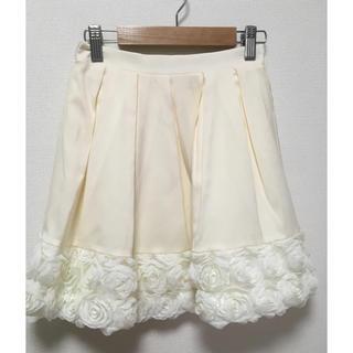 アドリー(ADREE)のアドリー  お花付きスカート(ミニスカート)