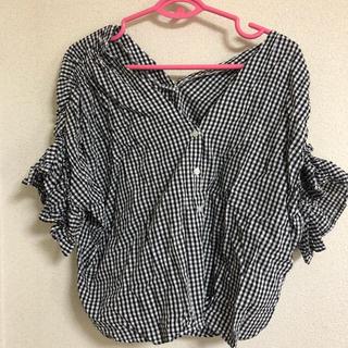 グレイル(GRL)のGRL ギンガムチェックトップス(シャツ/ブラウス(半袖/袖なし))