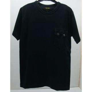 ウエストライド(WESTRIDE)の*0201・WEST RIDE ウエストライド 半袖カットソー ブラック(Tシャツ/カットソー(半袖/袖なし))