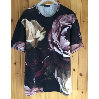 ラッドミュージシャン(LAD MUSICIAN)のladmusian17ss花柄ビッグローズTシャツ ラッド(Tシャツ/カットソー(半袖/袖なし))