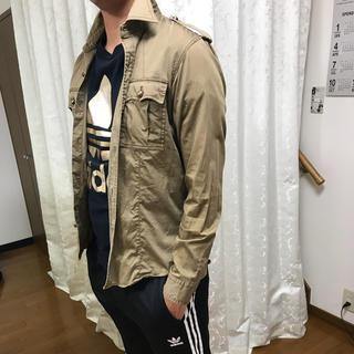 メンズビギ(MEN'S BIGI)のメンズ ビギ 長袖 ミリタリーシャツ(シャツ)