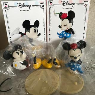ディズニー(Disney)の【新品未使用】ディズニー☆ミッキー&ミニー ☆フィギュア(二種セット)(その他)