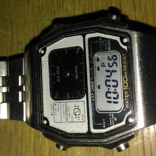 アルバ(ALBA)のアルバ デジアナ腕時計(腕時計(デジタル))