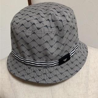 アルマーニ ジュニア(ARMANI JUNIOR)のアルマーニジュニア ハット 50cm(S)(帽子)