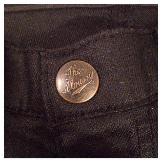 moussy(マウジー)のmoussy ブラックスキニー レディースのパンツ(デニム/ジーンズ)の商品写真