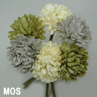 ピンポンマム 造花 12本 髪飾り 和装(その他)