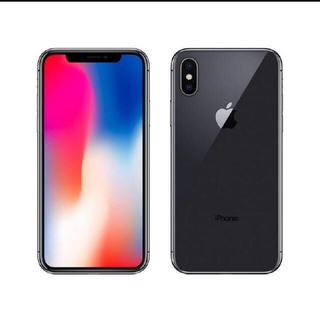 アイフォーン(iPhone)のiPhoneX 64GB スペースグレイ  エイ様専用(スマートフォン本体)
