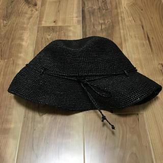 ムジルシリョウヒン(MUJI (無印良品))の無印 たためるキャベリン(麦わら帽子/ストローハット)