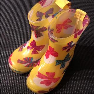キッズフォーレ(KIDS FORET)のキッズフォーレ♡リボン 長靴 13cm(長靴/レインシューズ)
