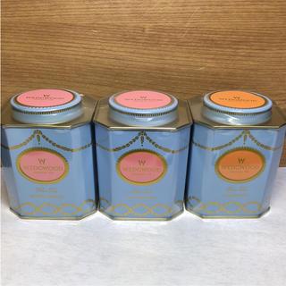 ウェッジウッド(WEDGWOOD)の☆ウェッジウッド 紅茶 3缶 オレンジペコ& ブレックファースト(茶)