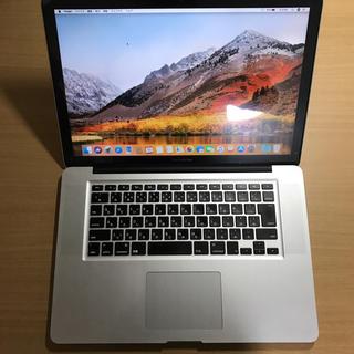 マック(Mac (Apple))のMacBook Pro(15-inch,Mid2012) 中古美品 おまけ有り(ノートPC)