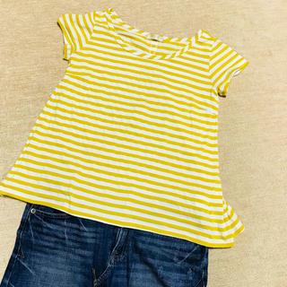 アーモワールカプリス(armoire caprice)の最終値下 バックリボン ストライプのTシャツ(Tシャツ(半袖/袖なし))