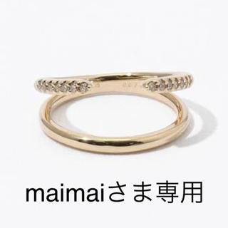 maimai様専用  hirotaka Mantaリング ピアスセット(リング(指輪))