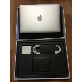 マック(Mac (Apple))のMacBook air 13インチ 128GB SSD 2015年(ノートPC)