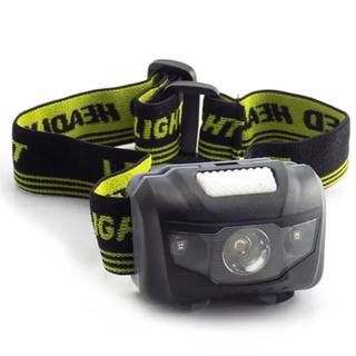 LED防水ヘッドライト(ブラック)1台 【複数購入で割引出来ます】(その他)