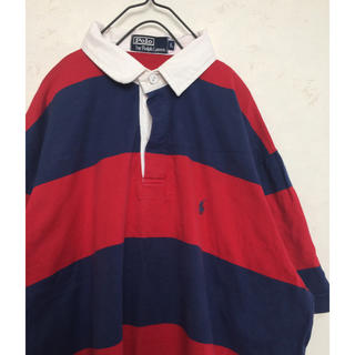 used ラルフローレン   ラガーシャツ