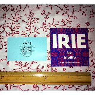 アイリーライフ(IRIE LIFE)のirie life ショップカード&ステッカー(その他)