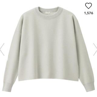 ジーユー(GU)のgu ラメボクシーセーター(ニット/セーター)