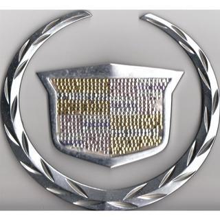 キャデラック(Cadillac)のキャデラック エンブレム (ジャンク品)(汎用パーツ)