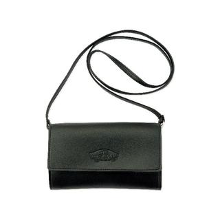 ヴァンズ(VANS)の未使用 mini 付録 VANS 特製レザー調&型押しロゴ お財布ポシェット (ショルダーバッグ)