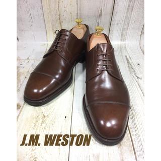 ジェーエムウエストン(J.M. WESTON)のJMウエストン ストレートチップ 500 UK8H 27cm(ドレス/ビジネス)
