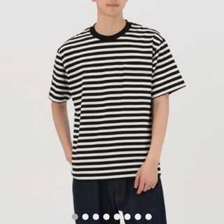 ムジルシリョウヒン(MUJI (無印良品))のMUJIラボ ボーダーT(Tシャツ/カットソー(半袖/袖なし))