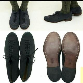 エヴァムエヴァ(evam eva)の値下中!evam evaエヴァ厶エヴァsued 10hole shoes(ローファー/革靴)