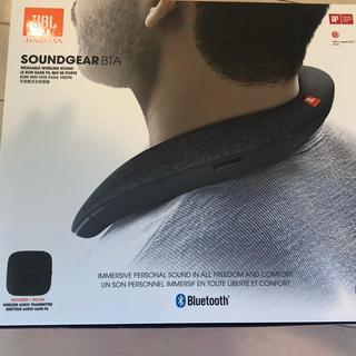 ジェイビーエス(JBS)の美品♡JBL Soundgear BTA ネックスピーカー(スピーカー)