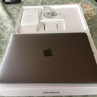 マック(Mac (Apple))のMacBook 2017 12inch i7-1.4GHz/16GB/512GB(ノートPC)