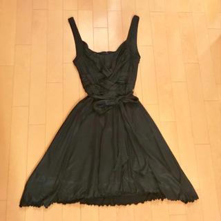 編み上げドレス ブラック