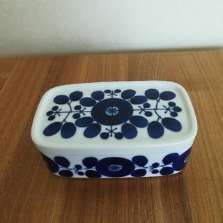白山陶器 - 白山陶器 ブルーム バターケース 新品未使用品