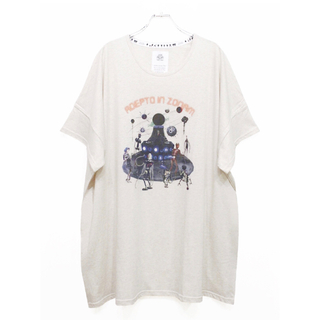ストフ(stof)のSTOF プリントビッグTシャツ(Tシャツ/カットソー(半袖/袖なし))