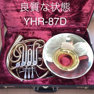 ヤマハ(ヤマハ)のホルン ヤマハ カスタム フルダブル ベルカット YHR-87D(ホルン)