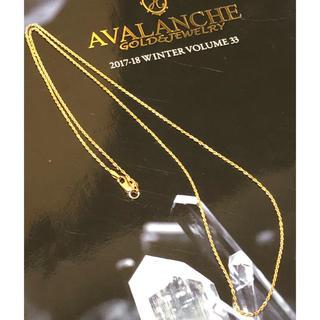 アヴァランチ(AVALANCHE)の14k アヴァランチ ロープネックレス YG(ネックレス)