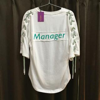 ノーティー(Naughty)の韓国ファッション(Tシャツ(半袖/袖なし))